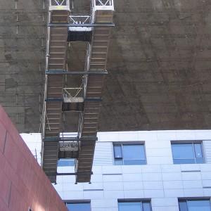 under buildings 4